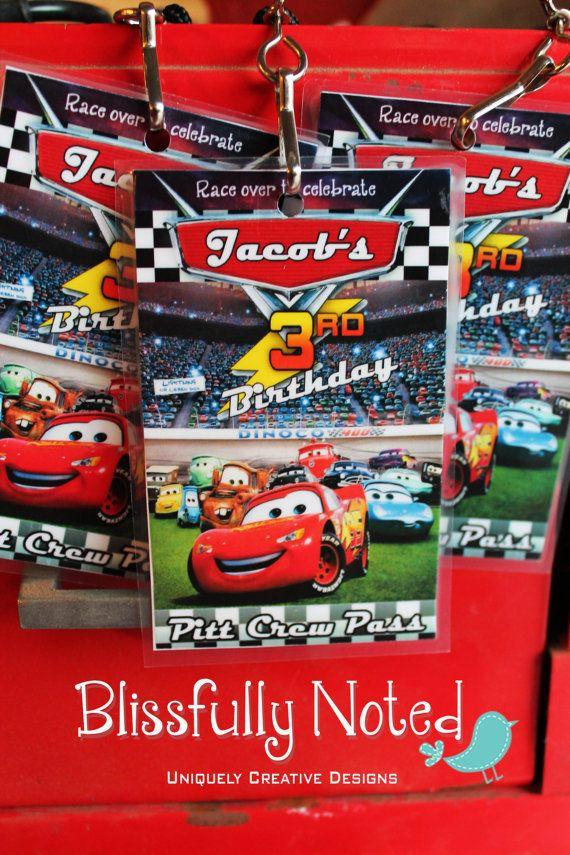 9 best disney car's birthday invites images on pinterest | car, Birthday invitations