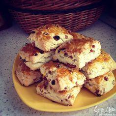 Английские сливочные булочки к чаю - видеорецепт | Кулинарные рецепты от «Едим дома!»