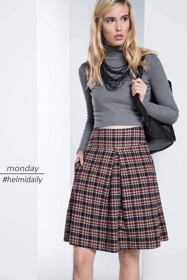 Like a school girl! #helmidaily #welovetodesign  #shoponline: http://bit.ly/1Se1Dno