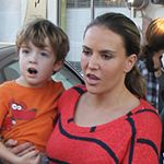 Charlie Sheen's Ex Wife Spotted With Their Children For more stories check us out at www.mamiverse.com