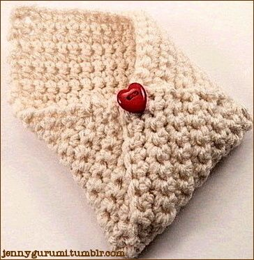 Valentine's+crochet+pattern   Free Pattern: Crochet Valentine Open   Crochet Amigurumi