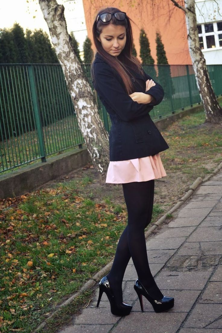 Pin By Miss Tina Allison W On Outfit  Pantyhose Outfits -6830