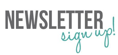 newsletter sign up lil blue boo