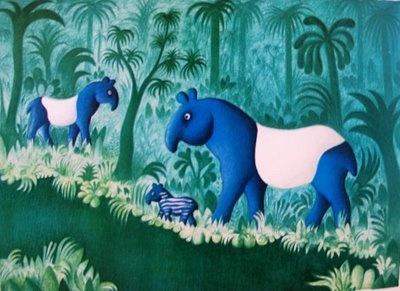 A Polar Bear's Tale - Danish artist Hans Scherfig (1905-1979)
