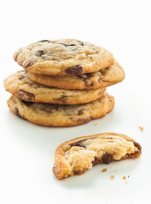 Biscuits tendres aux trois chocolats Recettes | Ricardo