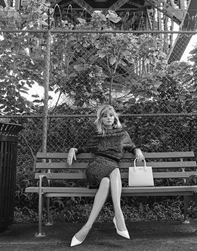 Хейли Беннетт на обложке The Edit (Интернет-журнал ETODAY)