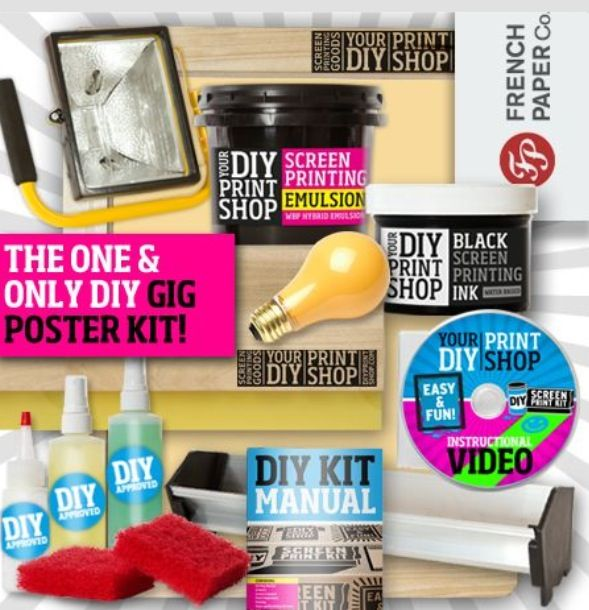 98 best diy kits screen printing images on pinterest arts and curious as to whats in our diy kits we make sure you have everything you solutioingenieria Images