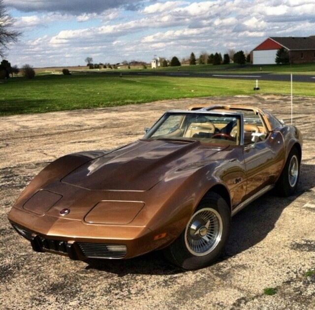 1975 Corvette with Special Order Factory Wheels