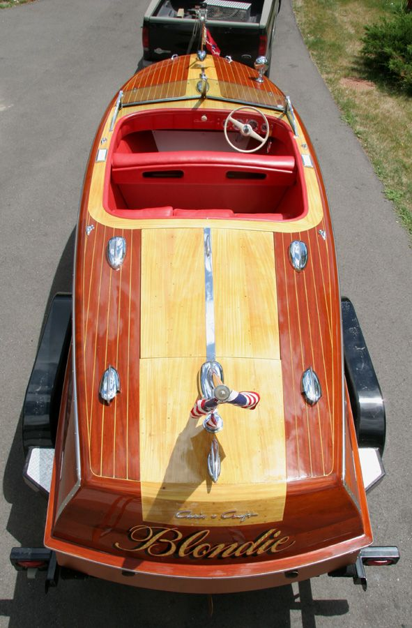 1947 20' Chris Craft Custom Runabout - Blondie...