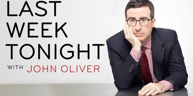 News with comic mayhem! John Oliver off-the-wall funny!