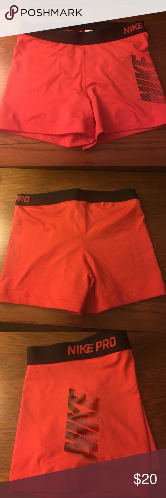 NWOT women's Nike compression shorts NWOT Nike women's compression shorts. I have tried these on, but never actually worn them Nike Shorts