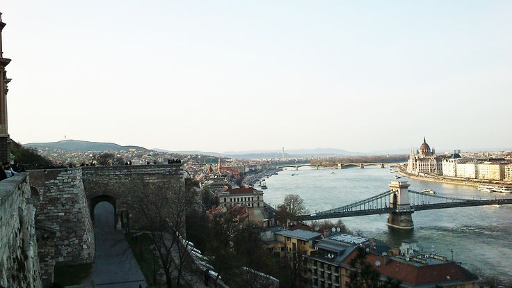 view from the Buda Castle