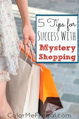 Mystery shopping can be a great way to pick up some extra cash! Before you give it a try, check out these tips for success with mystery shopping.