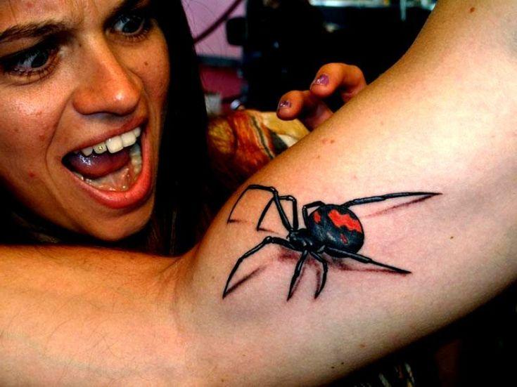 tatuaże 3d #spider #tattoo #spidertattoo