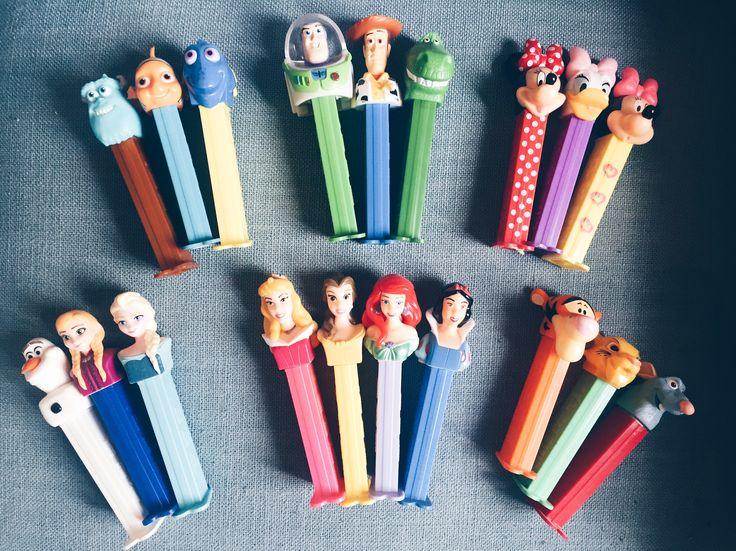 • P E Z • Ma collection de Pez Disney  #Disney #DisneylandParis #Disneyland #Pez