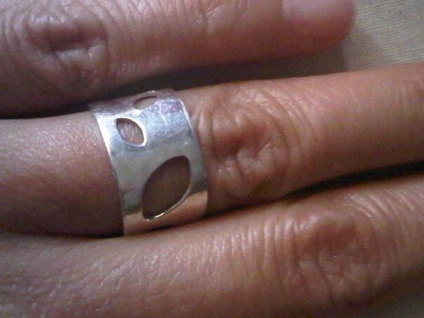 anillo calado