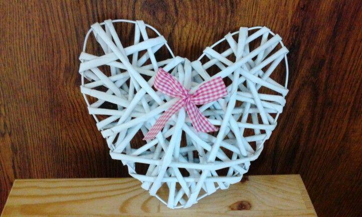 Wicker heart / Pletené srdce