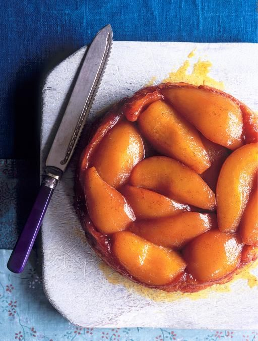 Pear tart tatin | Jamie Oliver | Food | Jamie Oliver (UK) Love pears & like the idea of a Pear Tart Tatin
