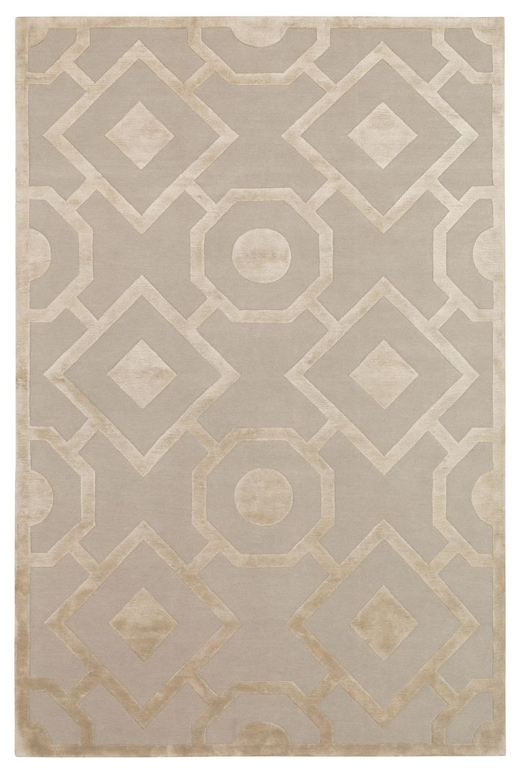 Romy by Suzanne Sharp | Wool and Silk Contemporary hand-knotted designer rugs