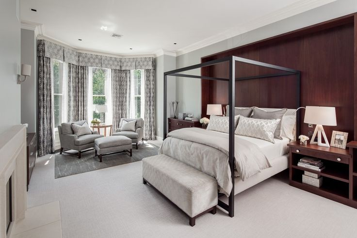 Master Bedroom Bedroom Contemporary by Slifer Designs