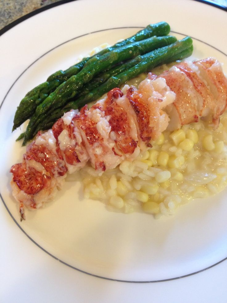 Vanilla Butter Poached Lobster Tail