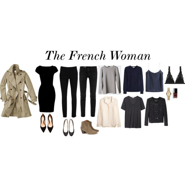 """The French Woman"" by trenchcoatandcoffee on Polyvore"