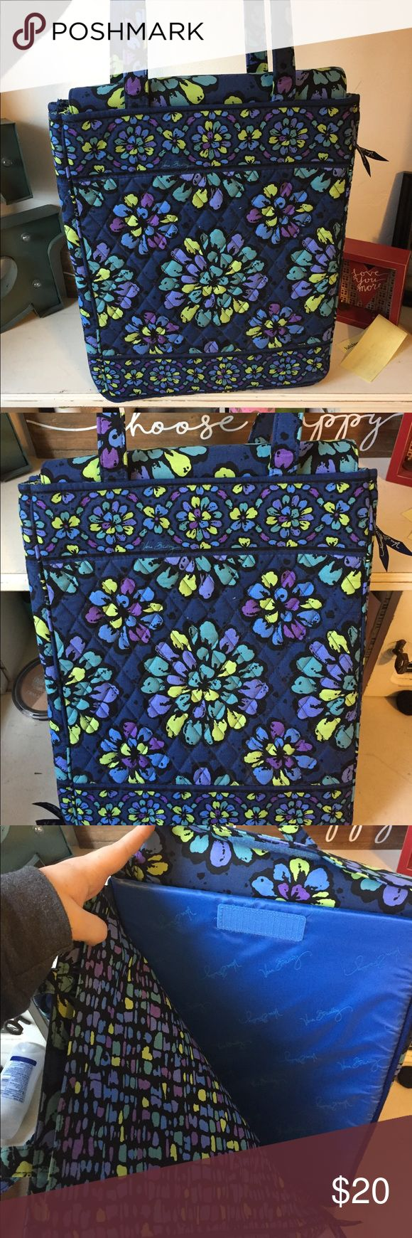NWOT Vera Bradley laptop bag/purse! NWOT Vera Bradley laptop bag! Protective pocket to store a laptop and other pockets as well! Never used! In perfect condition! vera bradley Bags Laptop Bags