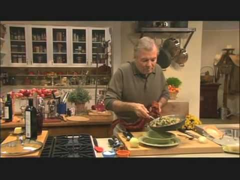 Fast Proof Bread: Jacques Pépin-- overnight no knead bread, mixed in a pot, left in refrigerator overnight and then baked in the same pot the next day