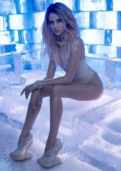 Originale vom Ice-Truck-Shooting - Germany's next Topmodel 2016
