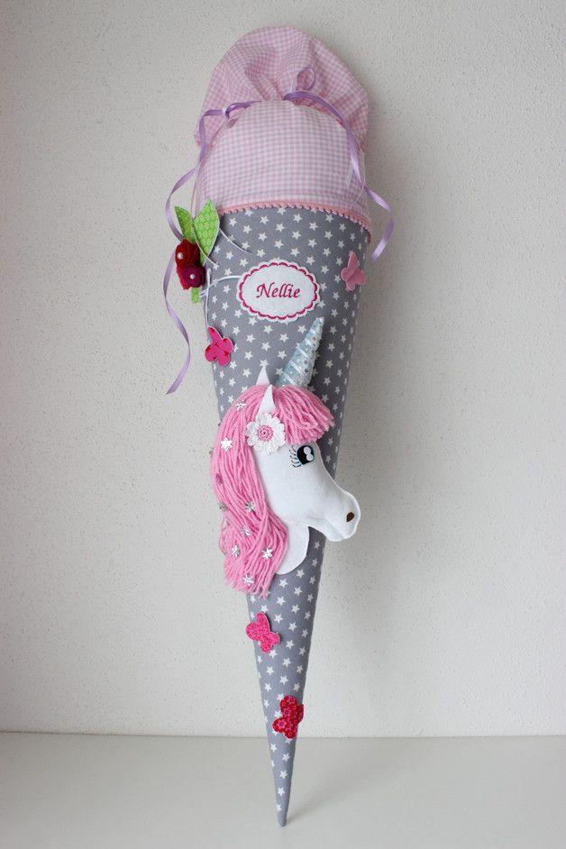 Eine  in liebevoller Handarbeit gefertigte, traumhaft schöne  Schultüte aus wu… – Corina Gramann-Mertz