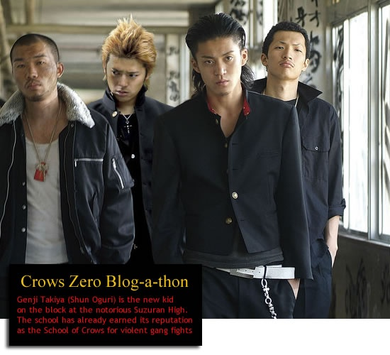 Crows Zero Blog-a-thon: The first movie by Takashi Miike + Shun Oguris Genji Takiya!