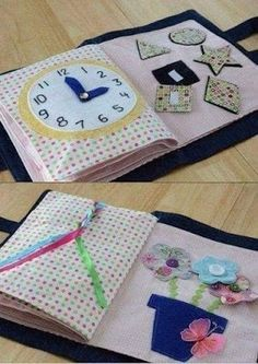 Un libro sensorial es de mucha ayuda para los pequeños que todavía no van a la escuela. Con él se les puede enseñar las cosas básicas que ap...