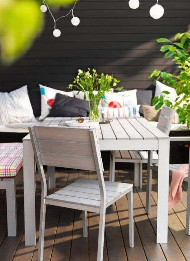 Tavolo bianco Ikea | Garden furniture inspiration, Ikea ...