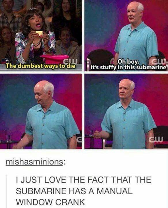 I'm so happy this is back on the air! Whose Line is it Anyway?^^^i love the 'things you can say about your (whatever), but not your girlfriend' ones! They're hilarious!