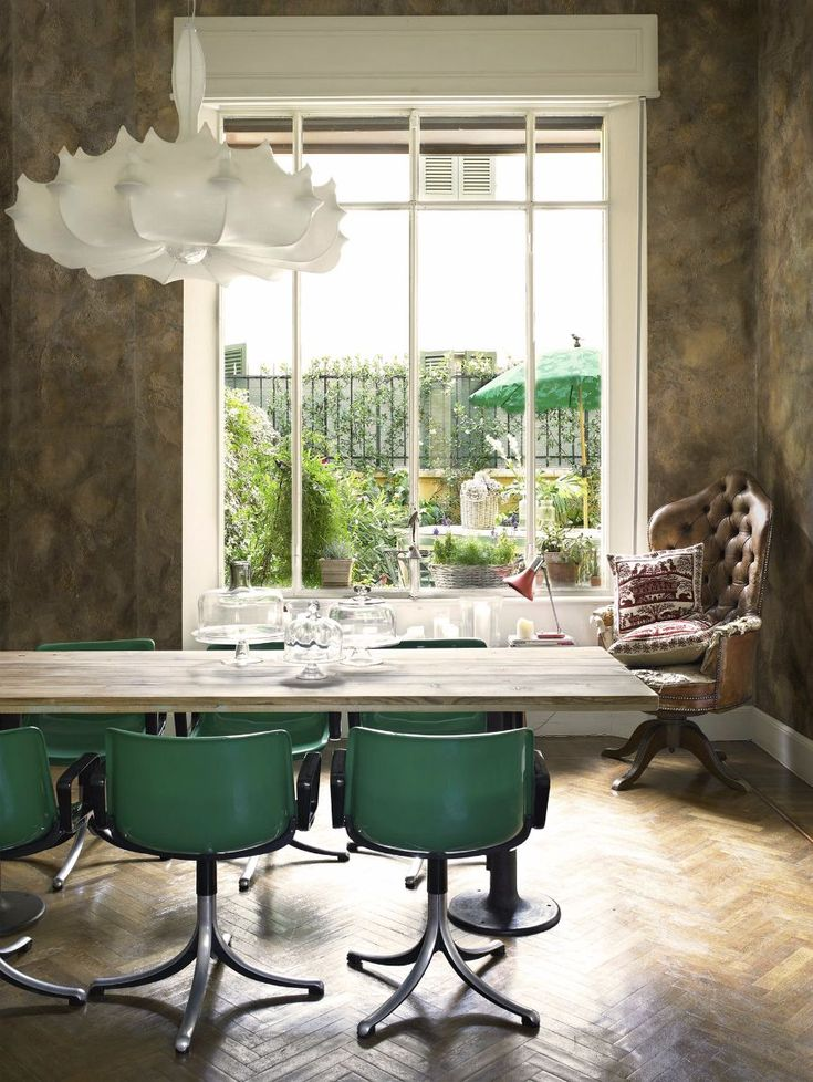 Enchanting Dinign Room. Wall Decor by Fabscarte - ARTEMEST