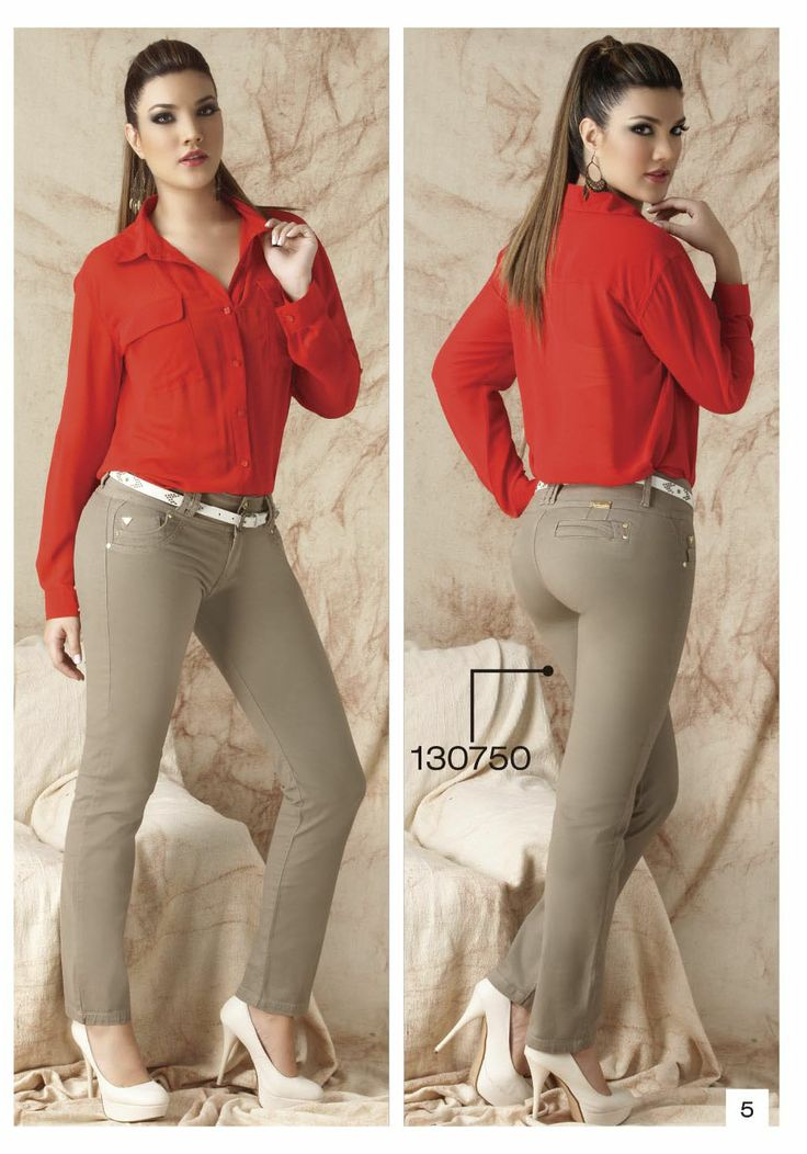 pantalon-de-drill-bota-tubo-color-beige - Sexy, yet Casual #Fashion #sexy #woman #womens #fashion #neutral #casual #female #females #girl #girls #hot  #hotlooks #great #style #styles #hair #clothing  www.ushuaiajean.com.co