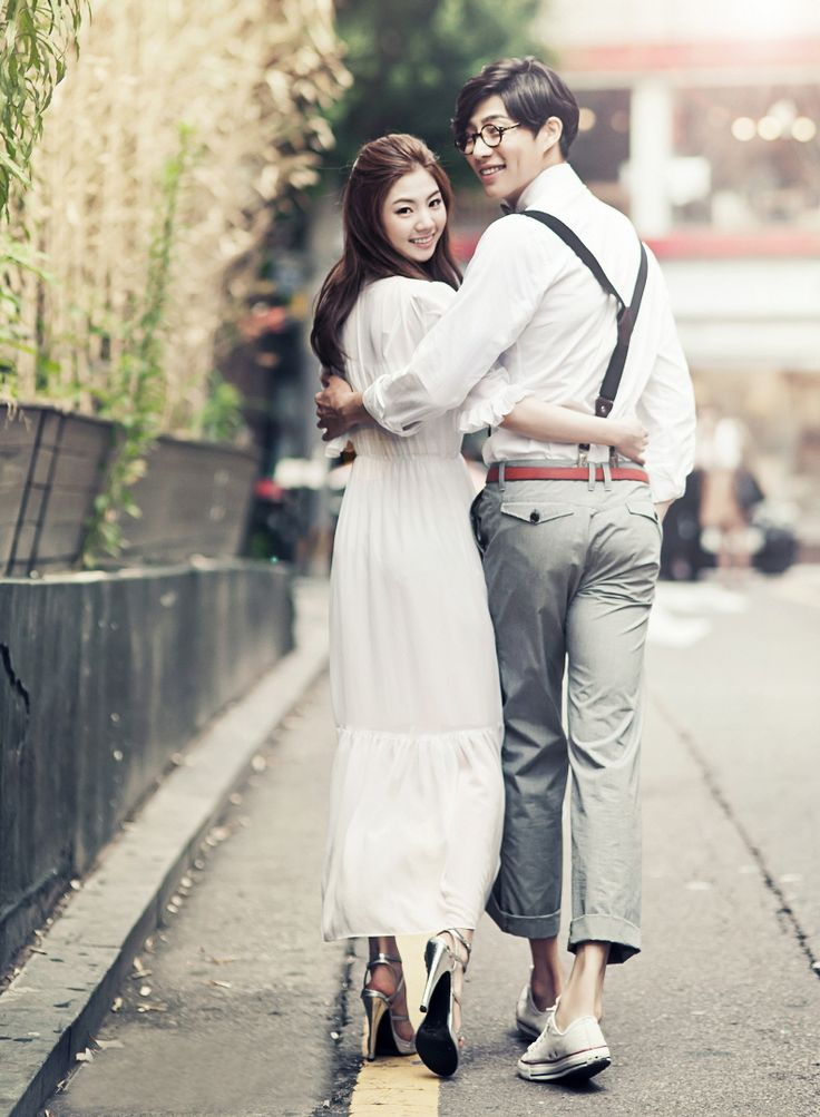 Korea Pre-Wedding Photo - A Unique One for You in Studio, Korea by May Studio | www.OneThreeOneFour.com