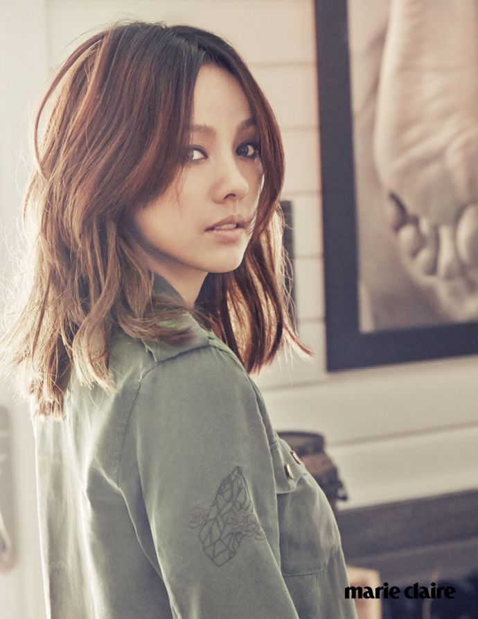 Marie Claire Korea's April 2015 Issue Feat. A Bohemian Chic Lee Hyo Ri | Couch Kimchi