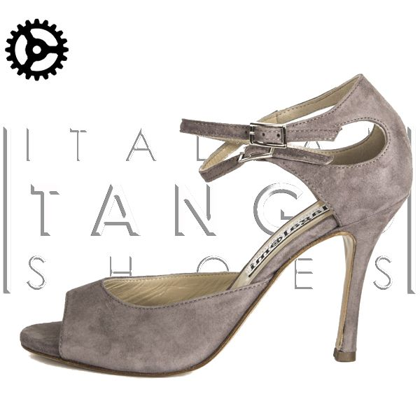 """Soho II"" in mink color suede http://www.italiantangoshoes.com/shop/en/women/315-alagalomi.html"