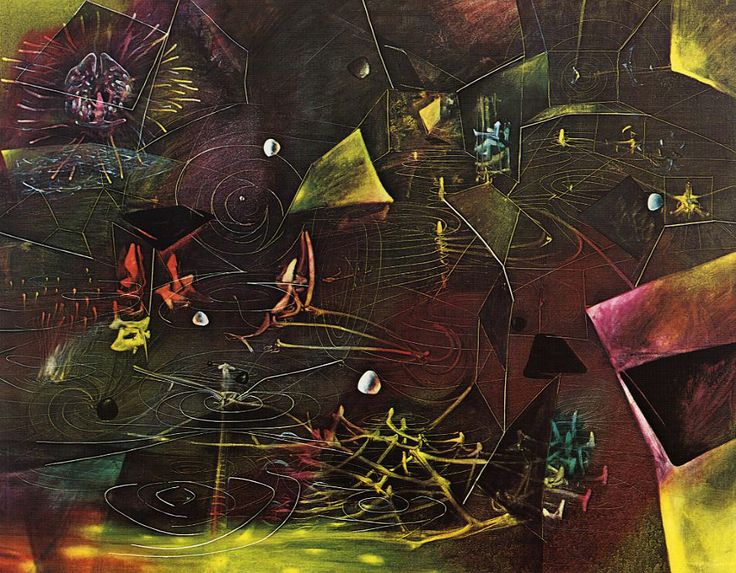The Vertigo of Eros (1944) Roberto Matta
