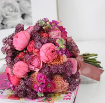 buchet mireasa in culori de toamna, flori de nunta, petalia design floral evenimente-A