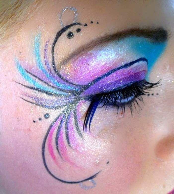 20+ Creative Eye Makeup Looks and Design Ideas