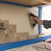 How a Tile Backsplash Meets With a Granite Counter Top | eHow