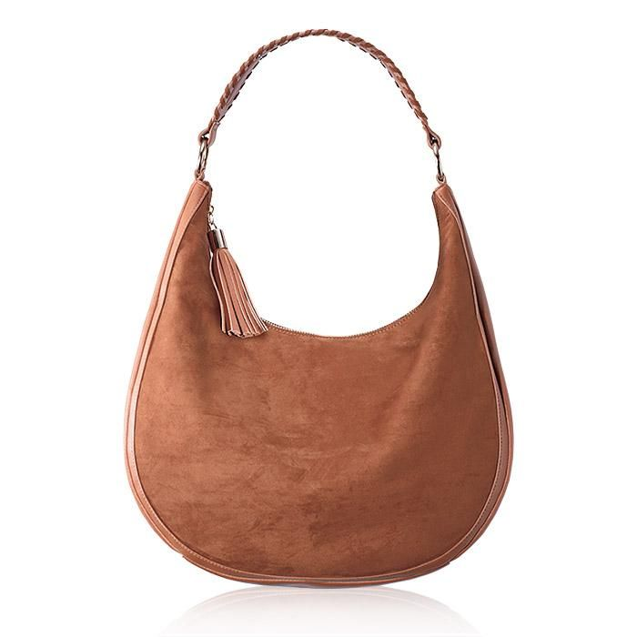1a2d5f24d1f3 Faux-Suede Hobo