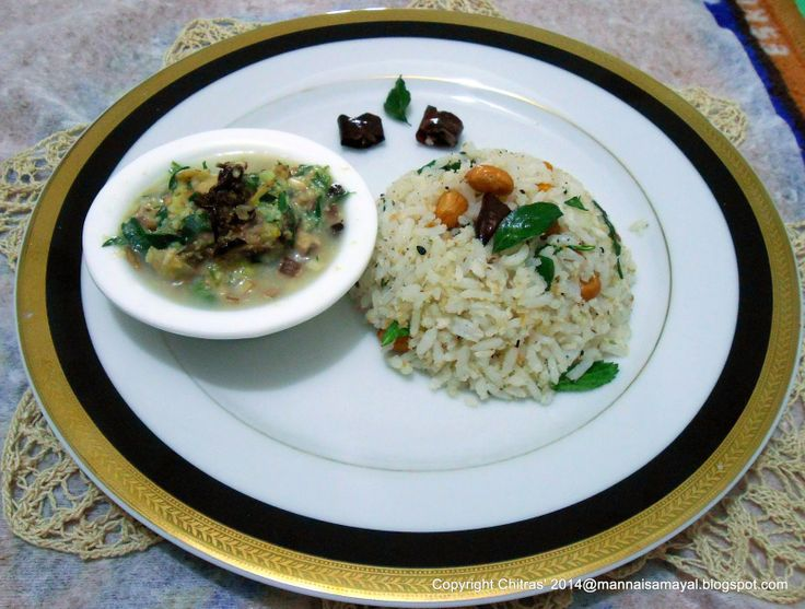 how to make coconut rice in tamil