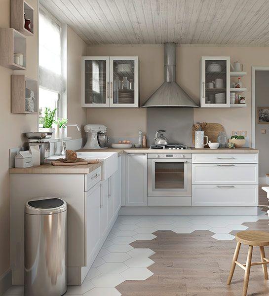 7 best cusine rustique moderne images on Pinterest Arquitetura - idee deco maison moderne