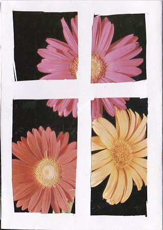 Okno s květinami mamince - 3. třída