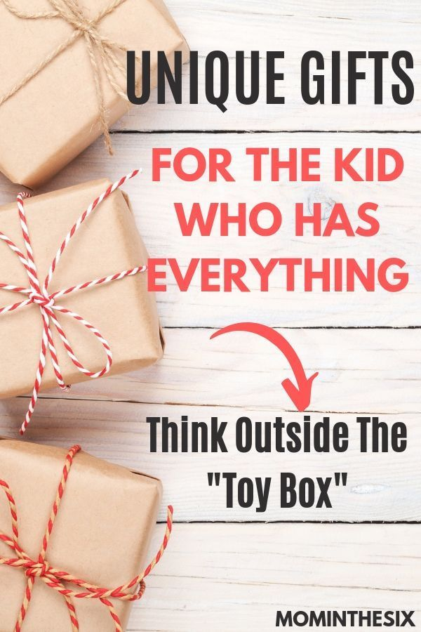 13 Unique Gifts For Kids Who Have Everything In 2020 Unique Gifts For Kids Personalized Gifts For Kids Birthday Gifts For Kids