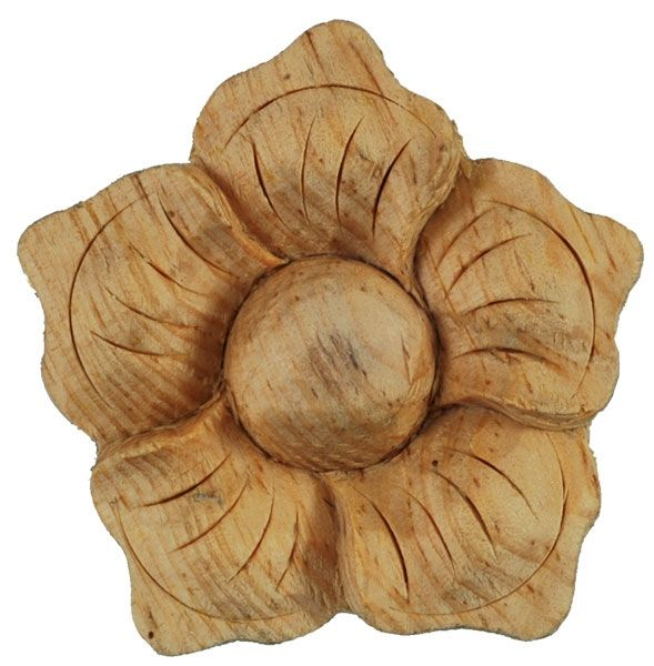 Wild Goose Small Flag Flower 50x10mm Pine - wood carvings - pine - WILD GOOSE Small Flag Flower 50x10mm Pine - Timber, Tool and Hardware Merchants established in 1933