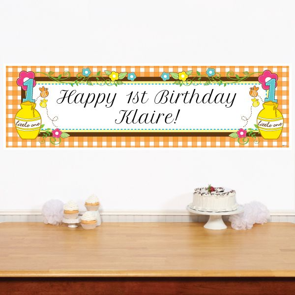 1000 Ideas About 1st Birthday Banners On Pinterest: 1000+ Ideas About Personalized Birthday Banners On